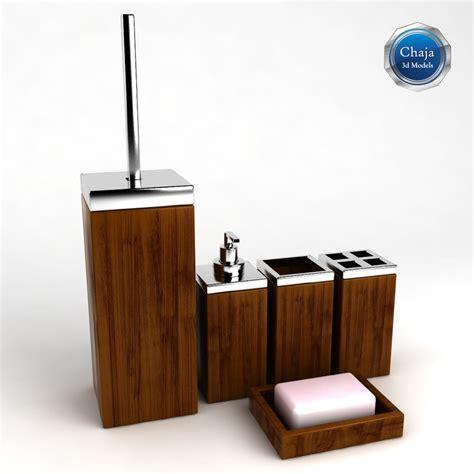 Bath Accessories 3d Model 3d Model Bathroom Accessories Bath