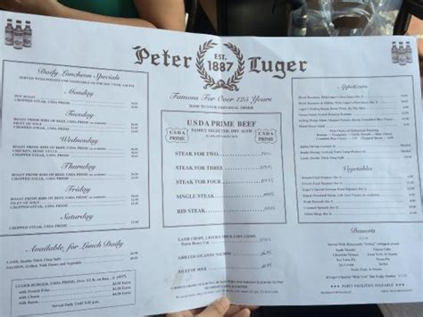 peter luger steak house rib steak photo de peter luger steak house brooklyn tripadvisor