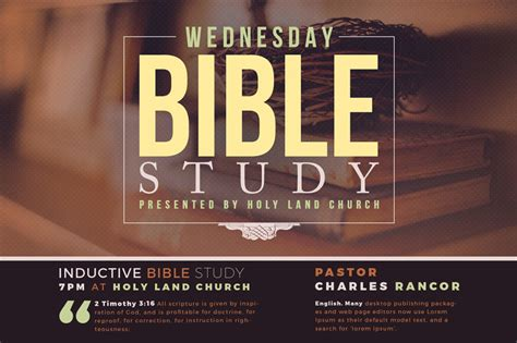 bible study flyer template free 25 church flyer templates for events and