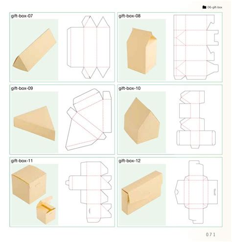 Paper Folding Box Template - best 25 box templates ideas on