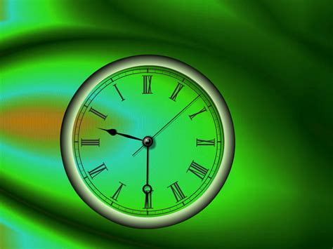 wallpaper desktop clock reverse clock screensaver turn time back
