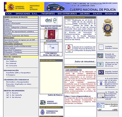 oficina virtual policia nacional web de la polic 237 a 171 realidad aparte