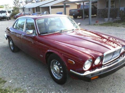 1980 jaguar xj6 for sale purchase used 1980 jaguar xj6 l sedan 4 door 4 2l in