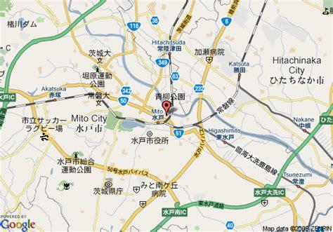 Restay Mito Mito Japan Asia map of inn mito mito