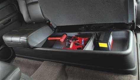 Chevy Silverado Amp Gmc Sierra Gearbox Under Seat Storage