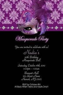 sweet sixteen 16 masquerade birthday invitations wallpaper