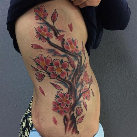 cherry blossom side tattoo designs 65 small cherry blossom ideas