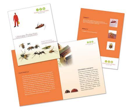Kalangiam Madras Pest Control Brochures Design Pest Brochure Template