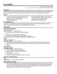 Valve Repair Sle Resume by Valve Technician Resume Exle Custom Valve Repair New Castle Pennsylvania