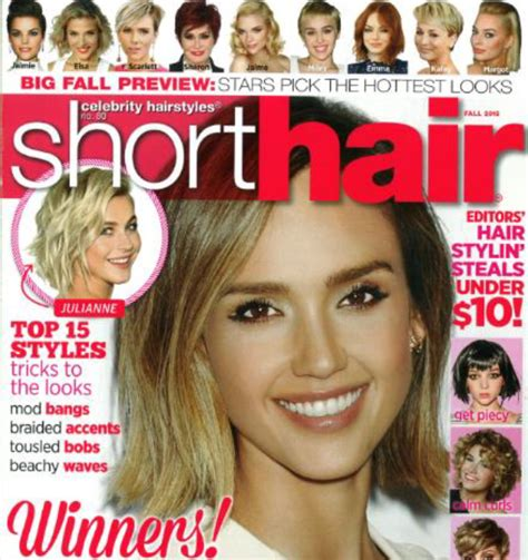 short hairstyles picture 3 by hairstyles magazine top 15 hair styles trick in short hair magazine