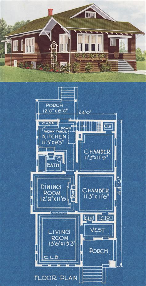 Tiny Bungalow House American Homes Beautiful 1921 Bungalow House Plans In America