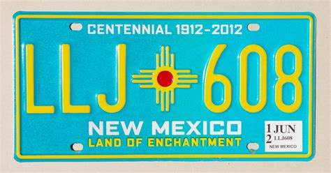 New Plates Are by 100 Years Of New Mexico License Plates Albuquerque Journal