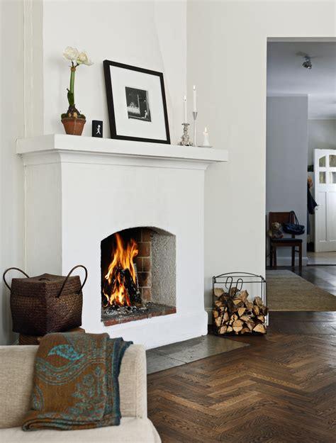 Nordic Fireplace by Swedish House Tour Turn Of The Century