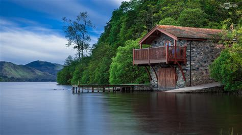 lake house house by the lake hd wallpaper bighdwalls