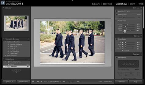 lightroom tutorial slideshow mastering lightroom slideshows and web galleries