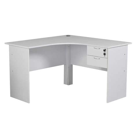 120cm 2 drawer corner desk decofurn factory shop