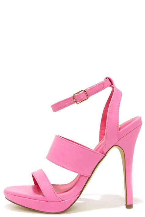 High Heels Giardino Grdn 109 pink heels high heel sandals 23 00