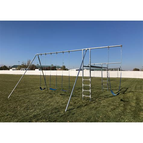metal swing sets component playgrounds abby metal swing set swing sets at