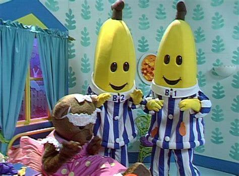 Teddies Costume Piyama Bananas In Pyjamas Banana Breakfast 1999 Clip 2 On Aso