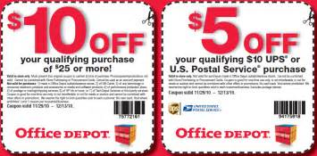 Office Depot Printable Coupons January 2015 Office Depot Officemax Discount Coupons Codes