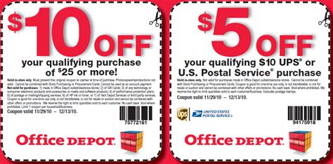 Office Depot Coupons Discounts Office Depot Officemax Discount Coupons Codes