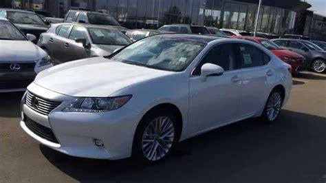 lexus sedan white white 2014 lexus es 350 fwd 4dr sedan technology package