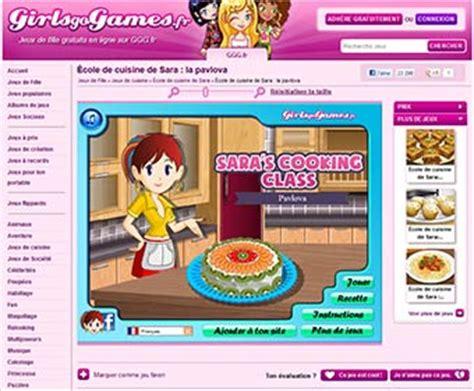 girlsgogames 馗ole de cuisine de girlsgogames revendique plus de 5 000 jeux diff 233 rents