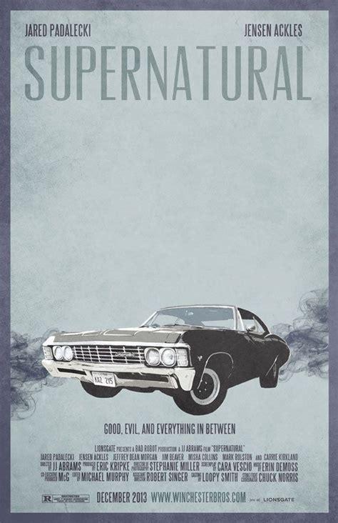 poster impala supernatural impala poster