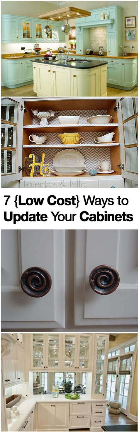 ways to update kitchen cabinets 7 low cost ways to update your cabinets islands