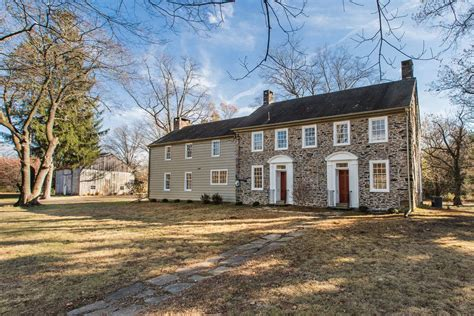 cobblestone tree farm pa 1821 house with new addition wants 950k curbed