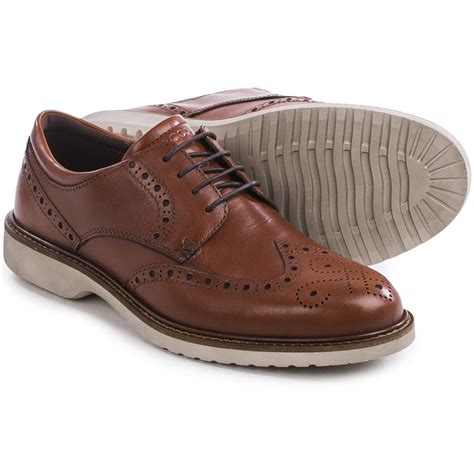 ecco shoes ecco ian wingtip shoes for save 61