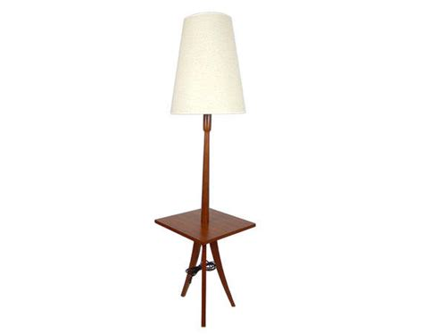 modern floor l with table mid century modern teak floor l with from stonesoupology on