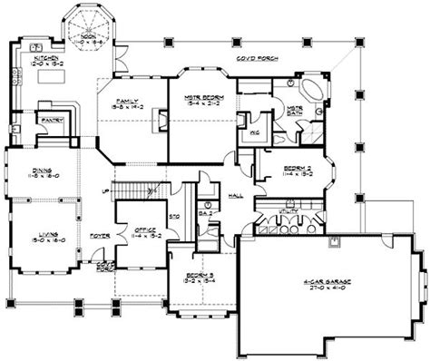 plan 23320jd modern rambler with upstairs bonus room