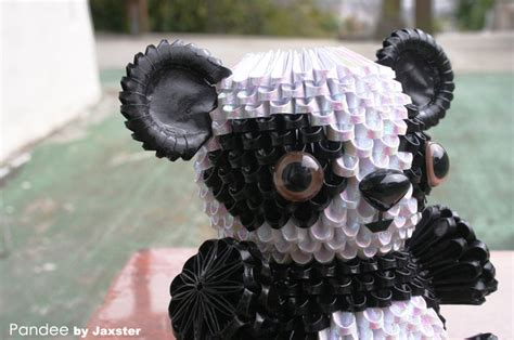 3d Panda Origami - 3d origami panda 3d origami