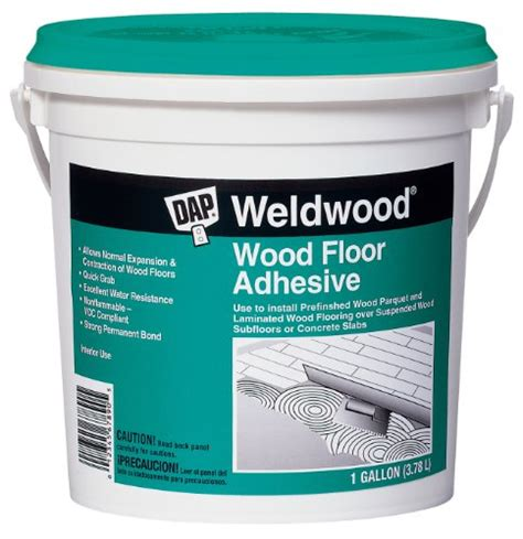 dap 25133 weldwood wood floor adhesive gallon hardware