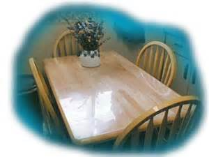 acrylic lucite protective tabletops