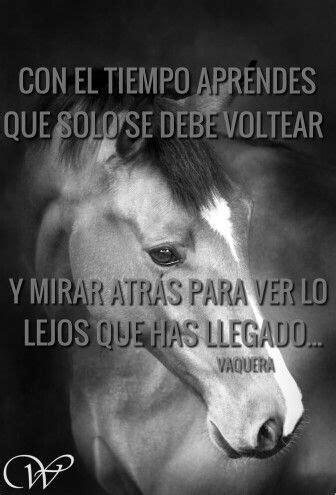 Solo con el tiempo lo sabras... | Frases de caballos