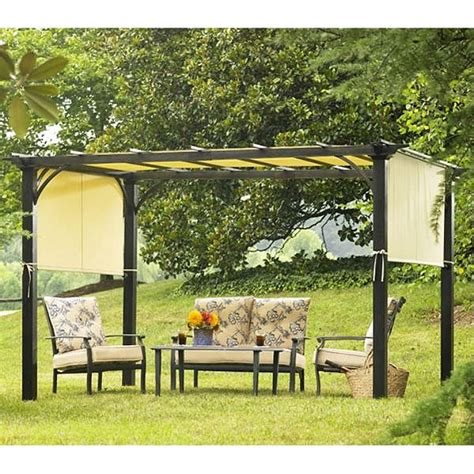 Sears Garden Oasis Pergola Deluxe Shaded Replacement Garden Oasis Pergola Replacement Canopy