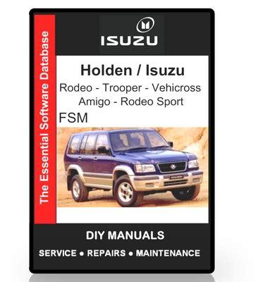 free service manuals online 2001 isuzu rodeo sport transmission control service manual 2002 isuzu rodeo sport repair manual pdf calam 233 o 1999 2002 isuzu amigo
