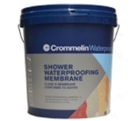 Waterproof Shower Membrane by Crommelin Shower Waterproofing Membrane Independent