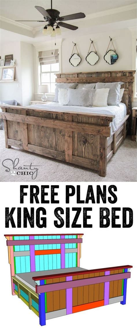 king size bed woodworking plans 17 best ideas about woodworking bed on wood