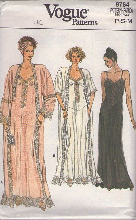 sewing pattern victorian nightgown momspatterns vintage sewing patterns vogue 9764 vintage