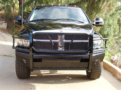 ram grill guard 3rd grille guards bumper replacements let s see em
