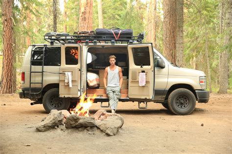 van living van life means a simpler life sportsmobile loaded with