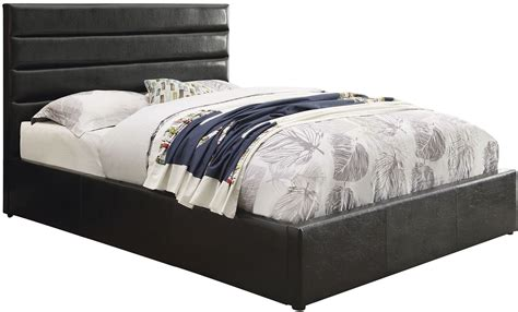 black king platform bed riverbend black king platform bed from coaster coleman furniture