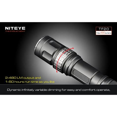 Niteye Eye30 Senter Led Cree Xm L U2 2000 Lumens niteye tf20 senter led cree xm l u2 480 lumens black jakartanotebook