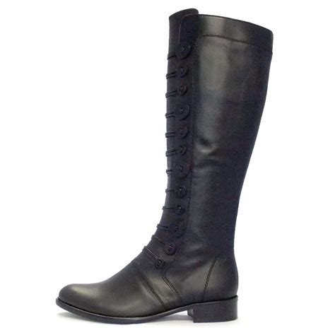 black boots gabor boots argyll womens boot in black mozimo