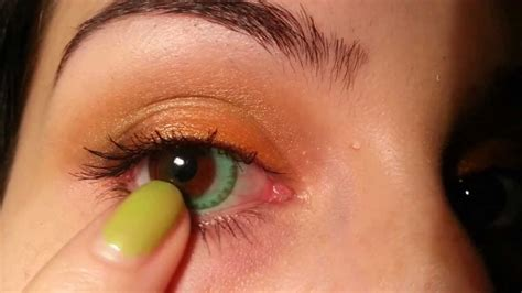 Spartax Brown By Soflens Kosmetik freshlook dimensions colored contacts sea green