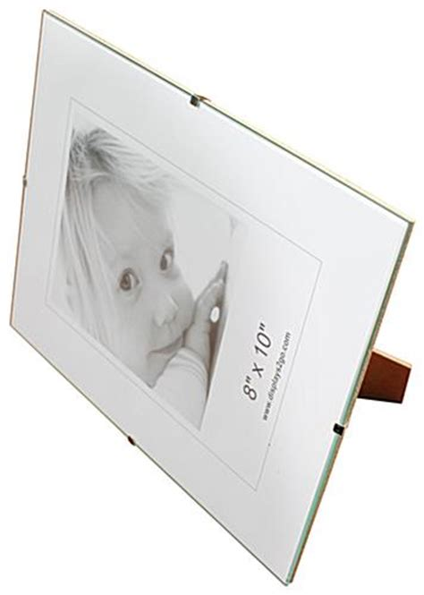 frameless 5 x 7 clip picture frame tempered glass 8 x 10 clip picture frames wall mounting frameless design