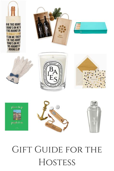 gifts for hostess holiday gift guide for the hostess bree west